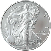 Silver Eagle 1 Once Argent