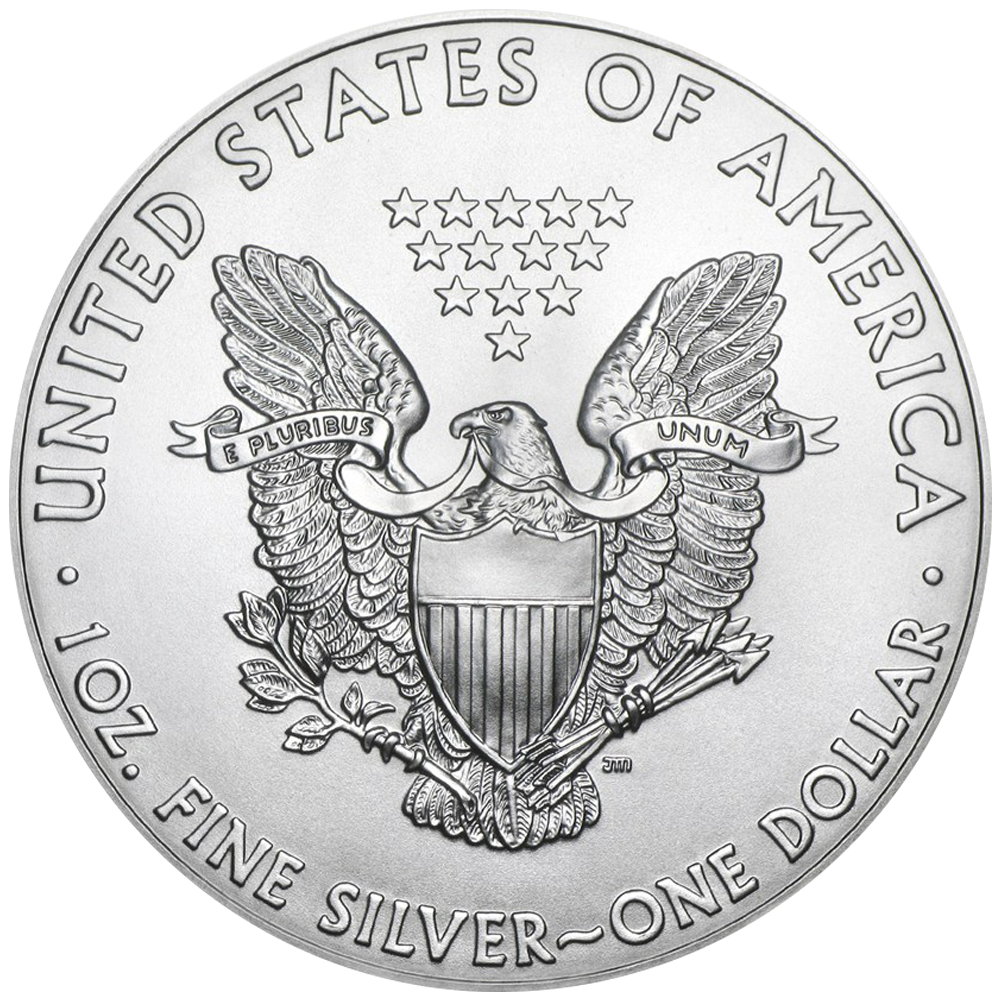 500 X1 OZ Silver Eagle ARG